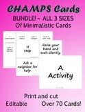CHAMPS Cards - Minimalistic Bundle