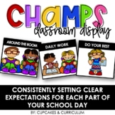 CHAMPS Classroom Expectations Display