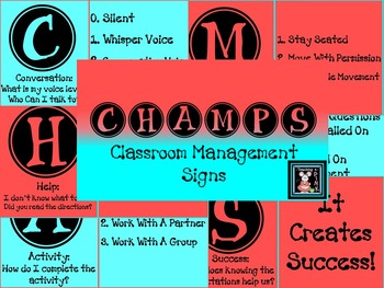 CHAMPS Classroom Management