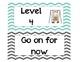 CHAMPS Classroom Management Cards in Grey & Aqua Chevron