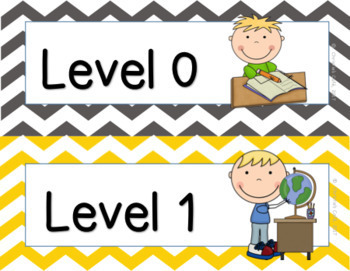 CHAMPS Classroom Management Chevron EDITABLE (grey and yellow)