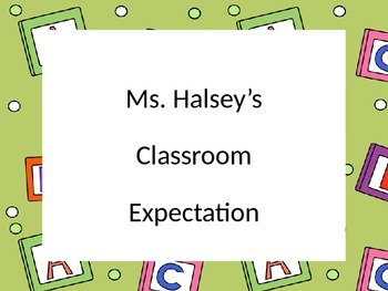 CHAMPS Classroom Management Editable Posters