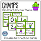 CHAMPS Classroom Management Posters - Cactus Theme