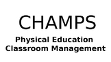 CHAMPS Classroom Management Power Point Slides