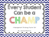 CHAMPS: Classroom Management Strategy