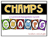 CHAMPS Classroom Management System