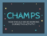CHAMPS Classroom Poster