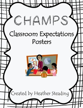 CHAMPS Classroom Posters {Management}