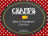 CHAMPS Clip Chart Management - Apple Red Dots