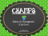 CHAMPS Clip Chart Management - Cupcakes