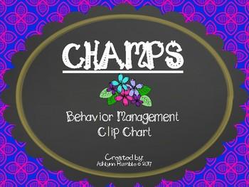 CHAMPS Clip Chart Management - Flowers