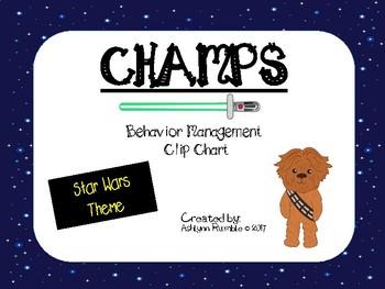CHAMPS Clip Chart Management - Star Wars