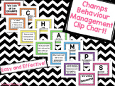 CHAMPS Behavior Management Clip Chart