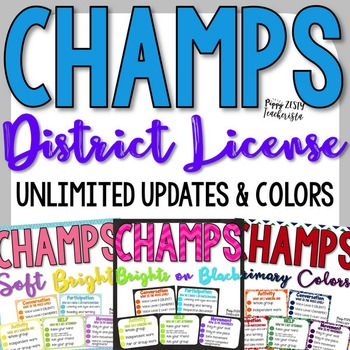 CHAMPS Clipcharts [District License]