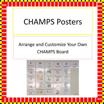 CHAMPS Customizable Poster Set