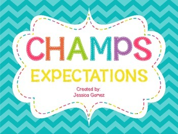 CHAMPS Expectation Cards