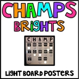 CHAMPS Expectation Posters (Light Board)