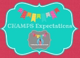 CHAMPS Expectations Posters