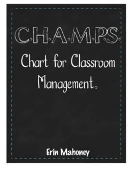 CHAMPS Expectations for Pocket Charts