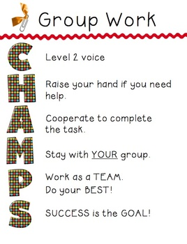 CHAMPS - Group Work (CC2 alpha)