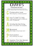 CHAMPS Handout for Parents