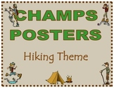 CHAMPS Posters Hiking Theme (2 Background Colors)