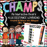 CHAMPS INTERACTIVE FOAM BOARD - ENGL & SPAN