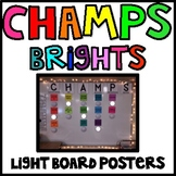 CHAMPS Light Board Posters (As seen on Pinterest)