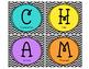 CHAMPS Management Cards (Black & White Chevron)