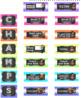 CHAMPS Behavior Management System Posters *EDITABLE* Multi-Color Chevron