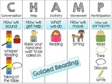 CHAMPS Matrix for Guided Reading