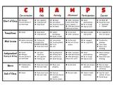 CHAMPS Matrix for Language Arts
