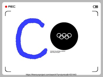CHAMPS - Olympic Inspired Letters