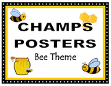 CHAMPS Posters Posters Bee Theme