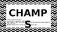 CHAMPS Poster - Editable