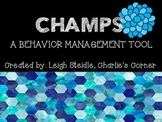 CHAMPS Poster Set-Blue Honeycomb