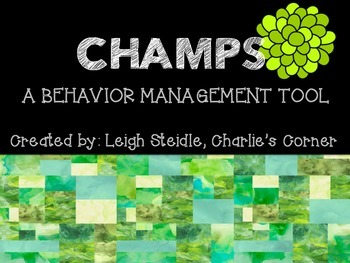 CHAMPS Poster Set-Green