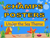 CHAMPS Posters Under the Sea Theme (2 Background Colors)
