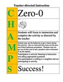 CHAMPS Poster for Direct Teacher Instruction