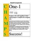 CHAMPS Poster for Small Groupwork