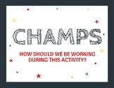 CHAMPS Poster for the Classroom
