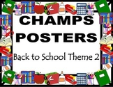 CHAMPS Posters Back to School Theme 2