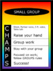 CHAMPS Posters/Bulletin Board Headings - Noah's Rainbow - Vertical