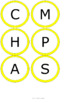 CHAMPS Posters/Bulletin Board Headings - Yellow - Vertical