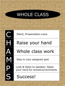 CHAMPS Posters - Burlap - Vertical