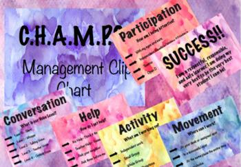 CHAMPS Clip Chart EDITABLE