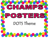 CHAMPS Posters DOTS Theme