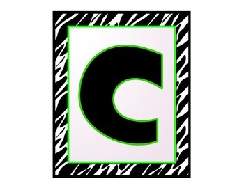 C.H.A.M.P.S. Posters (Lime Green, White, and Black theme)