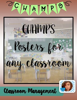 CHAMPS Posters Set #3