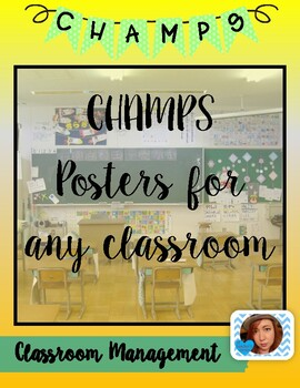 CHAMPS Posters Set #7